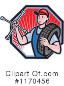 Royalty-Free (RF) mechanic Clipart Illustration #1170456