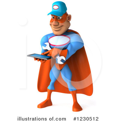 Super Mechanic Clipart #1230512 by Julos