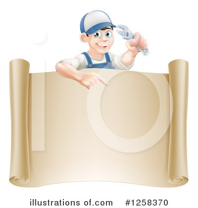 Construction Clipart #1258370 by AtStockIllustration