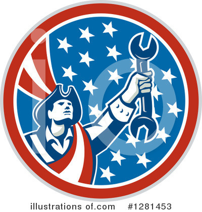 Patriot Clipart #1281453 by patrimonio