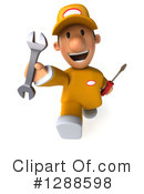 Mechanic Clipart #1288598 by Julos