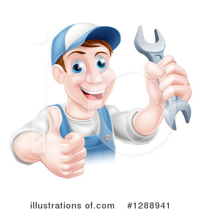 Mechanic Clipart #1288941 by AtStockIllustration