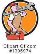Mechanic Clipart #1305974 by patrimonio