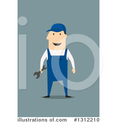 Mechanic Clipart #1312210 by Vector Tradition SM