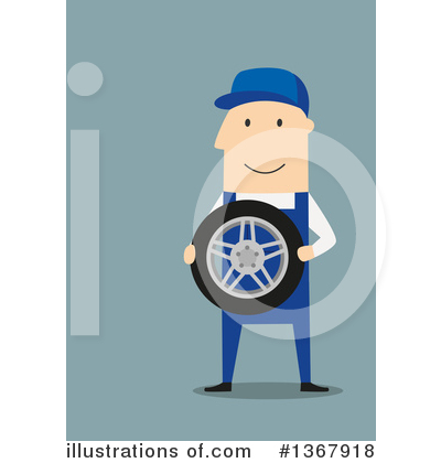 Mechanic Clipart #1367918 by Vector Tradition SM