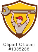 Royalty-Free (RF) Mechanic Clipart Illustration #1385286