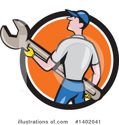 Worker Clipart #1402041 by patrimonio