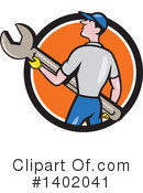 Mechanic Clipart #1402041 by patrimonio