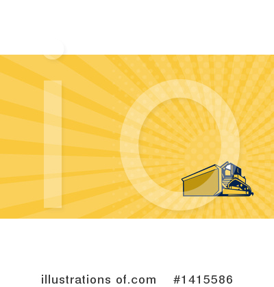 Heavy Machinery Clipart #1415586 by patrimonio