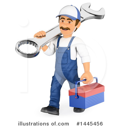 White Man Clipart #1445456 by Texelart