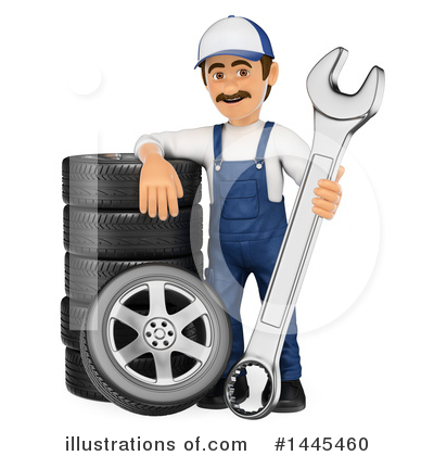 Tire Clipart #1445460 by Texelart