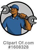 Mechanic Clipart #1608328 by patrimonio