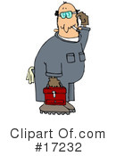 Royalty-Free (RF) mechanic Clipart Illustration #17232