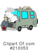 Royalty-Free (RF) Mechanic Clipart Illustration #210053