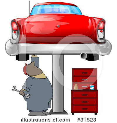 Mechanic Clipart #31523 by djart