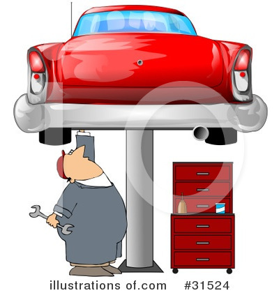 Mechanic Clipart #31524 by djart