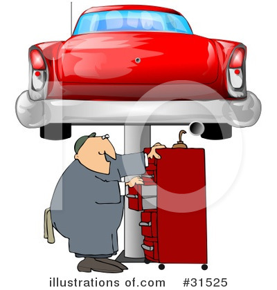 Mechanic Clipart #31525 by djart