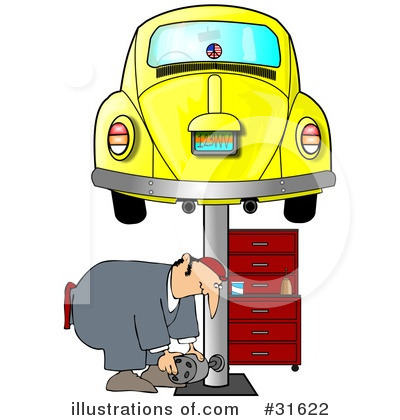 Mechanic Clipart #31622 by djart