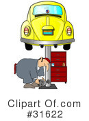 Royalty-Free (RF) Mechanic Clipart Illustration #31622