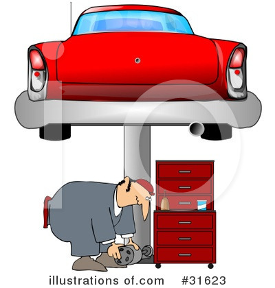 Mechanic Clipart #31623 by djart