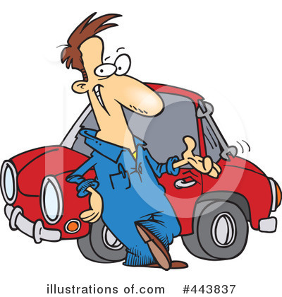 Mechanic Clipart #443837 by toonaday
