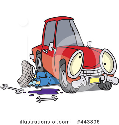 Mechanic Clipart #443896 by toonaday