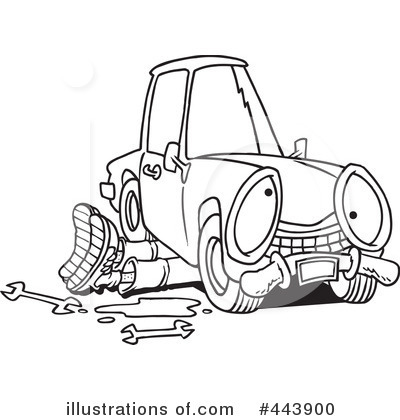 Royalty-Free (RF) Mechanic Clipart Illustration by toonaday - Stock Sample #443900