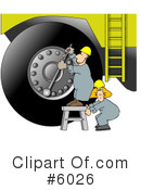 Royalty-Free (RF) Mechanic Clipart Illustration #6026