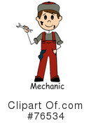 Mechanic Clipart #76534 by Pams Clipart