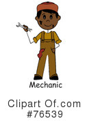 Mechanic Clipart #76539 by Pams Clipart