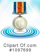 Royalty-Free (RF) medal Clipart Illustration #1097699