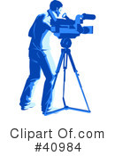 Media Crew Clipart #40984 by Tonis Pan