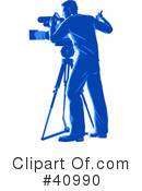 Media Crew Clipart #40990 by Tonis Pan
