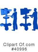 Media Crew Clipart #40996 by Tonis Pan
