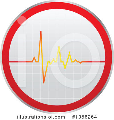 Heartbeat Clipart #1056264 by Andrei Marincas