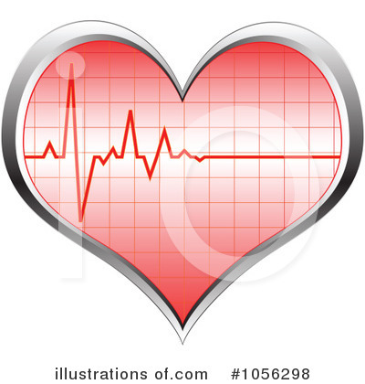 Heartbeat Clipart #1056298 by Andrei Marincas