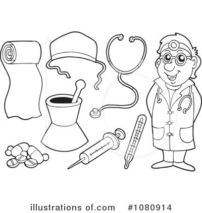 Medical Clipart #1080914 by visekart