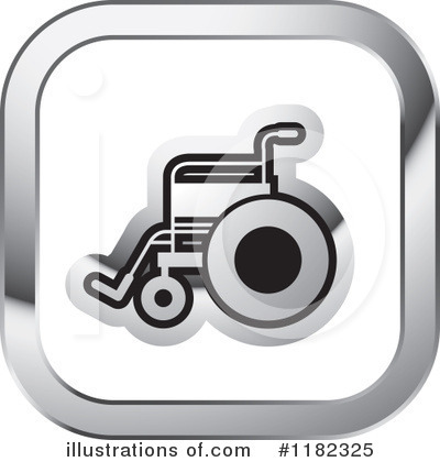 Wheelchair Clipart #1182325 by Lal Perera