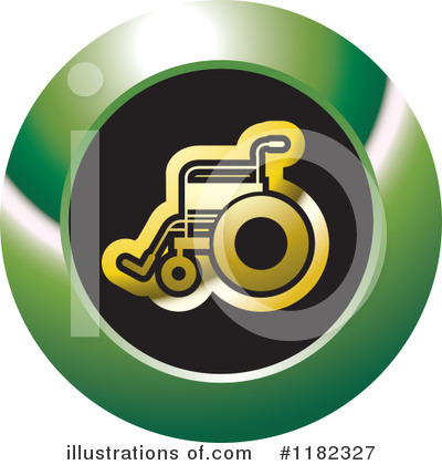 Wheelchair Clipart #1182327 by Lal Perera