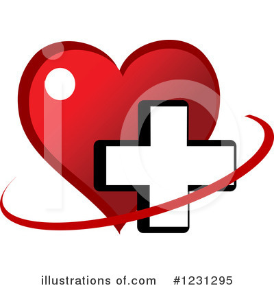 Heart Clipart #1231295 by Vector Tradition SM