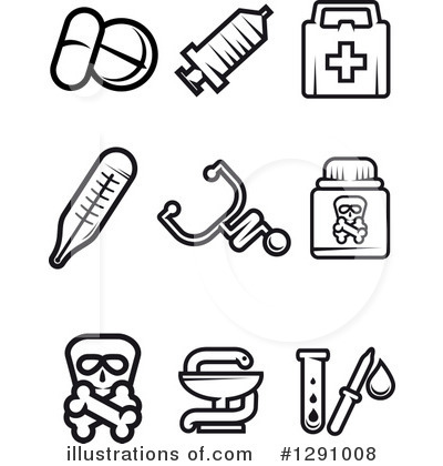 Test Tube Clipart #1291008 by Vector Tradition SM
