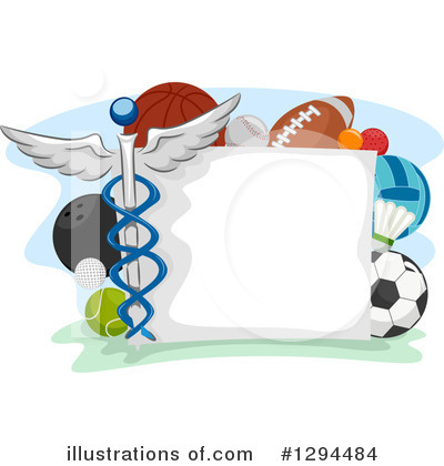 Hockey Clipart #1294484 by BNP Design Studio