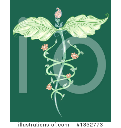 Caduceus Clipart #1352773 by BNP Design Studio