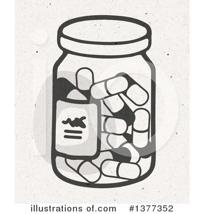 Pills Clipart #1377352 by NL shop