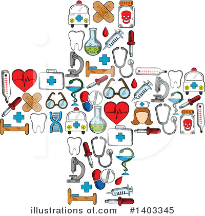 Royalty-Free (RF) Medical Clipart Illustration by Vector Tradition SM - Stock Sample #1403345