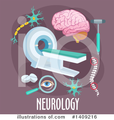 Brain Clipart #1409216 by Vector Tradition SM