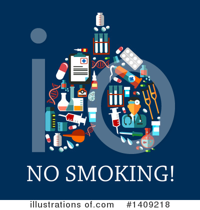 No Smoking Clipart #1409218 by Vector Tradition SM