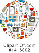 Medical Clipart #1416802 by Vector Tradition SM
