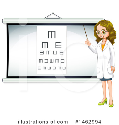 Optometry Clipart #1462994 by Graphics RF