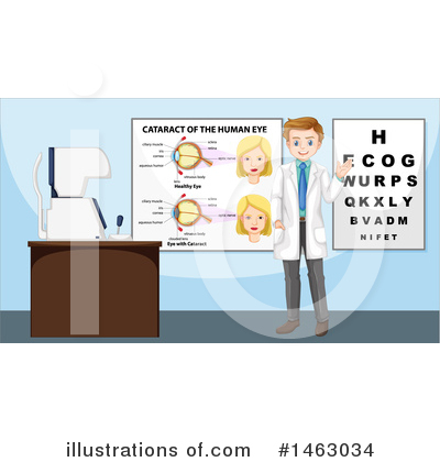 Optometry Clipart #1463034 by Graphics RF